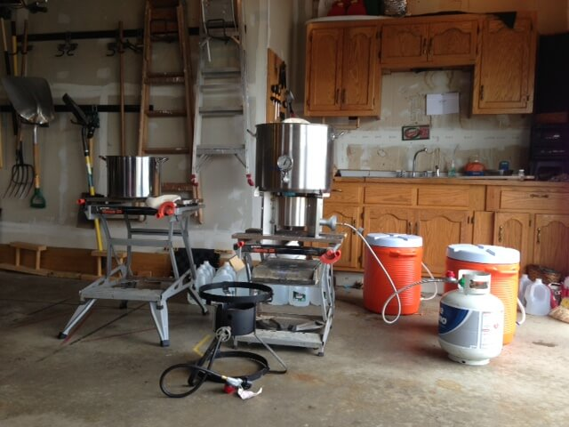 Home Brewers Event at LuPine Brewery