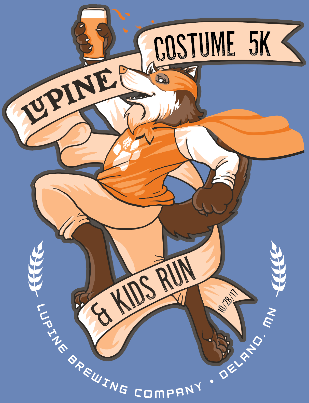 Lupine Brewing Costume 5K & Kids 1/4 mile Run