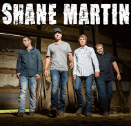 Shane Martin (band photo & logo)